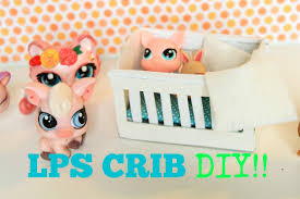 How To Keep Cats Out Of Baby Crib by How To Make An Easy Lps Crib How To Make Easy Doll Crib Youtube