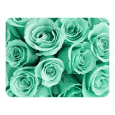 green roses mint green floral wedding invitations announcements zazzle