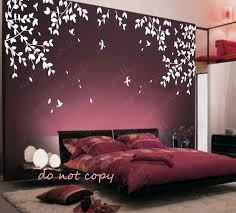 affordable wall stencils in simple bedroom wall stencil designs