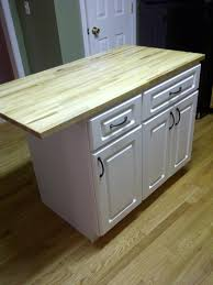 Kitchen Island Construction Diy Kitchen Island Cheap Kitchen Cabinets And A Countertop