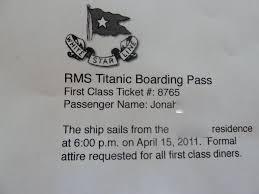titanic party
