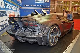mansory lamborghini mansory carbonado apertos an eur1 2m aventador roadster brings