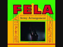 army photo album fela kuti nigeria 1985 army arrangement album