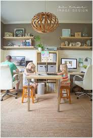chic home office desk best 25 two person desk ideas on pinterest 2 person desk