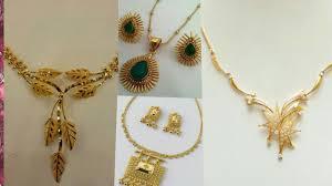 elegant gold necklace designs images Very unique and elegant necklace design gold jewellery jpg