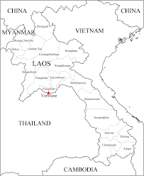 Thailand Blank Map by Laos Blank Map U2022 Mapsof Net