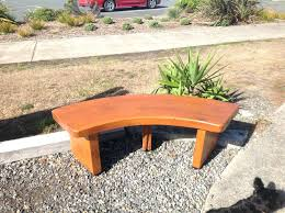 diy curved bench curved outdoor bench biophilessurf info