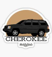 jeep grand cherokee stickers jeep grand cherokee stickers redbubble