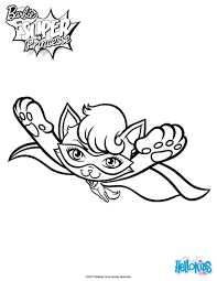 super cat in flight coloring pages hellokids com