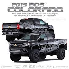 chevy colorado bds u0027s last minute sema build 2015 chevy colorado bds