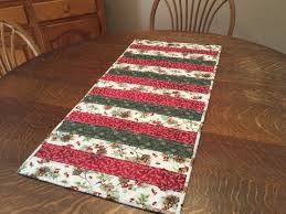 quilted table runner christmas table runner holiday table