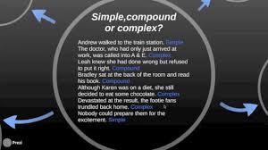 simple compound u0026 complex sentences part 2 spelling grammar