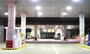 led gas station light outdoor explosion proof led gas station canopy lights for sale led