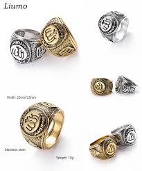 silver ring for men islam visit to buy liumo muslim allah zinc alloy ring men islam arabic