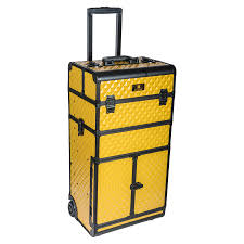 Makeup Chairs For Professional Makeup Artists Shany Rebel Series Pro Makeup Artists Rolling Train Case Trolley