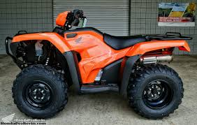 2017 honda foreman 500 atv model lineup explained comparison