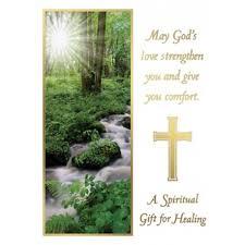 a spiritual gift for healing mass card catholic mass cards mass