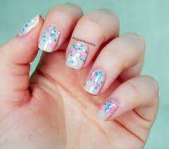 easy nail art glitter easy nail art and make up ideas