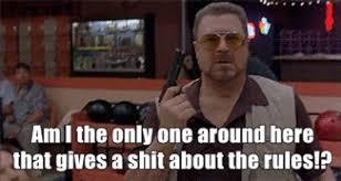 Big Lebowski Meme - big lebowski walter angry rules gun animated gif popkey