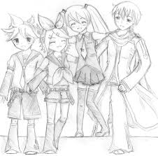vocaloid friends by kumuri kawaii on deviantart