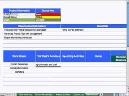 software development status report template 9 status report project management