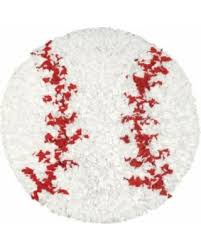Baseball Area Rug Deal Alert Shaggy Raggy Baseball Area Rug 3 Shaggy