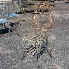 Vintage Iron Patio Furniture - vintage wrought iron patio chairs omero home