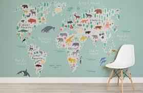 map mural safari map mural wallpaper muralswallpaper co uk