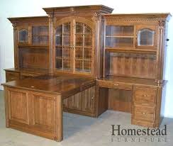 L Shaped Desk Hutch Office Desk With Hutch C Office Desk With Hutch Office Furniture L