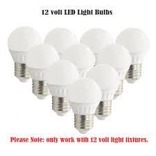 12 Volt Led Light Bulbs by Ashia Light 12 Volt Led Bulb Soft White E26 Screw Base 3w
