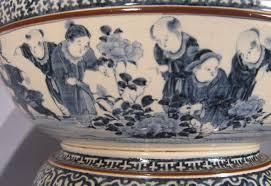 Blue And White Vases Antique Japanese Blue And White Porcelain Punch Bowl Dubey U0027s Art U0026 Antiques