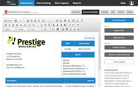 Make Your Own Invoice Template Generate An Invoice From An Opportunity Won In Salesforce Webmerge