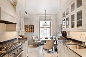 Black Galley Kitchen - white galley kitchen black and white galley kitchen transitional