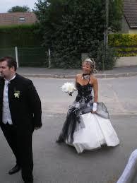 robe de mari e noir et blanc robe de mariée et blanche mariage forum vie pratique