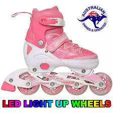 light up inline skates inline skates light up wheels pink