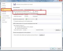 how to retrieve u201cunsaved u201d excel file saved with autosave