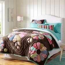 Teen Floral Bedding Funky Floral Quilt Sham Pbteen