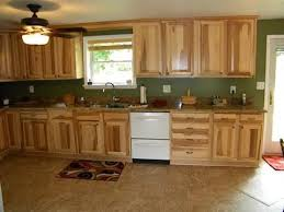what paint color goes best with hickory cabinets kitchen colors with hickory cabinets