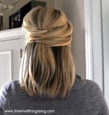 hair up ideas for shoulder length hair simple elegant hairstyles