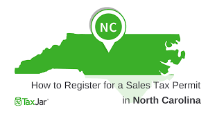 how to register for a sales tax permit in north carolina
