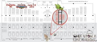 Baltimore Convention Center Floor Plan Appearances Once Upon A Time Machine