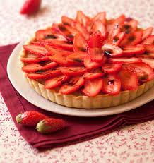 aux fraises cuisine tarte aux fraises caramel de vinaigre balsamique les meilleures