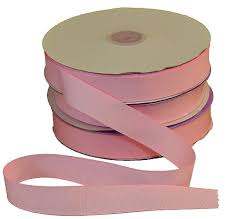 pink ribbon fabric 7 8 light pink grosgrain fabric ribbon 1 50yd roll