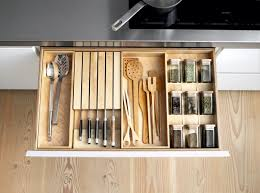 Kitchen Drawer Inserts The B1 System Offers Versatile Solid Birch Inserts For Drawer