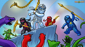 brickart lego ninjago nrg ninjas vs snakes youtube