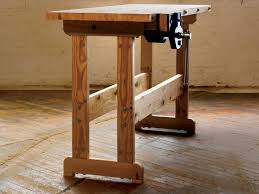Woodworking Bench Top Plans by How To Build A Workbench Simple Diy Woodworking Project