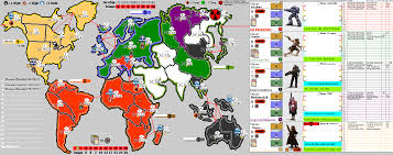 Central America Map Game by Play By Forum Risk Legacy World 2 Game 4 Spoiler Silentknights