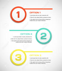 Torquent Per Conubia Nostra by One Two Three Vector Progress Steps Vector Illustration For