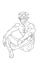 dc comic superhero flash coloring pages womanmate com