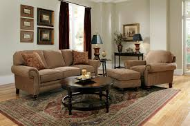 Wooden Sofa Set Images Furniture Awesome Tan Sofa Set With Round Wooden Table By